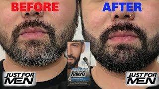 JUST FOR MEN | BEARD COLOR | REAL BLACK |