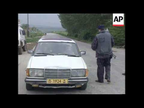 KOSOVO: SERB POLICE EXCHANGE FIRE WITH MILITANT ALBANIANS