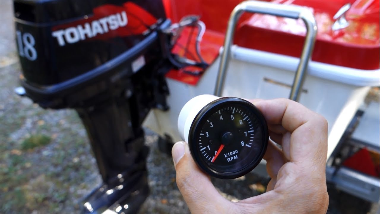 Motorcycle 2 Cylinder Tachometer Wiring Great Installation Of Rpm Diagram Automotive To A Small Engine Boat Atv V2 Rh Youtube Com Volvo Battery