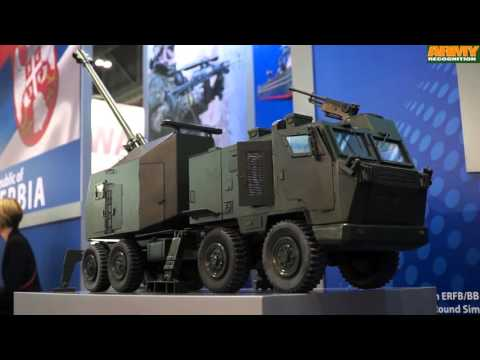 Yugoimport Serbian defence Company military equipment for Land Air Sea DSEI 2015 London UK