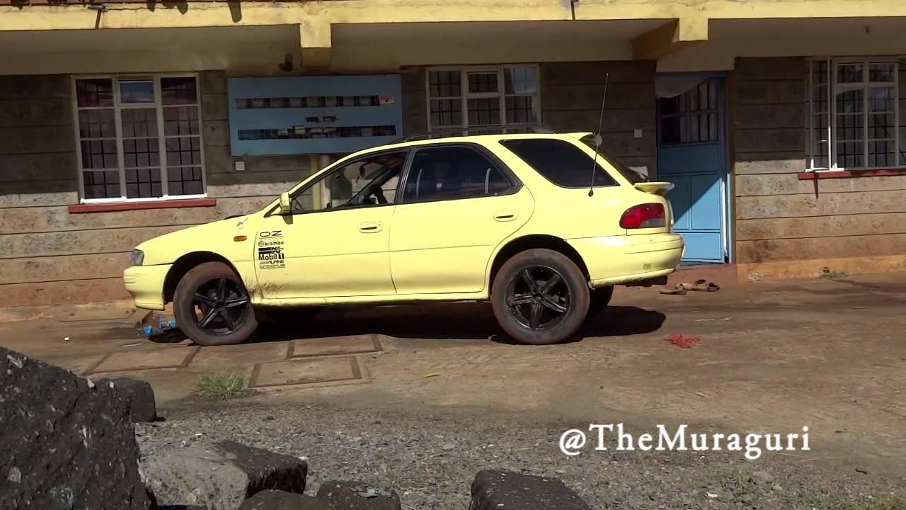 98 Subaru Impreza Wagon Lifted With Straight Rally Pipe