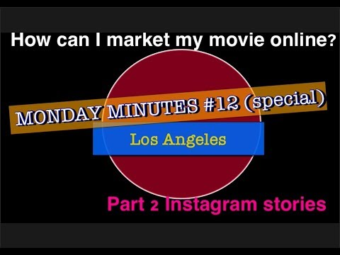 """""""How to use Instagram stories"""" (Part 2 of 5) Social media marketing vlog Monday Minutes #12"""
