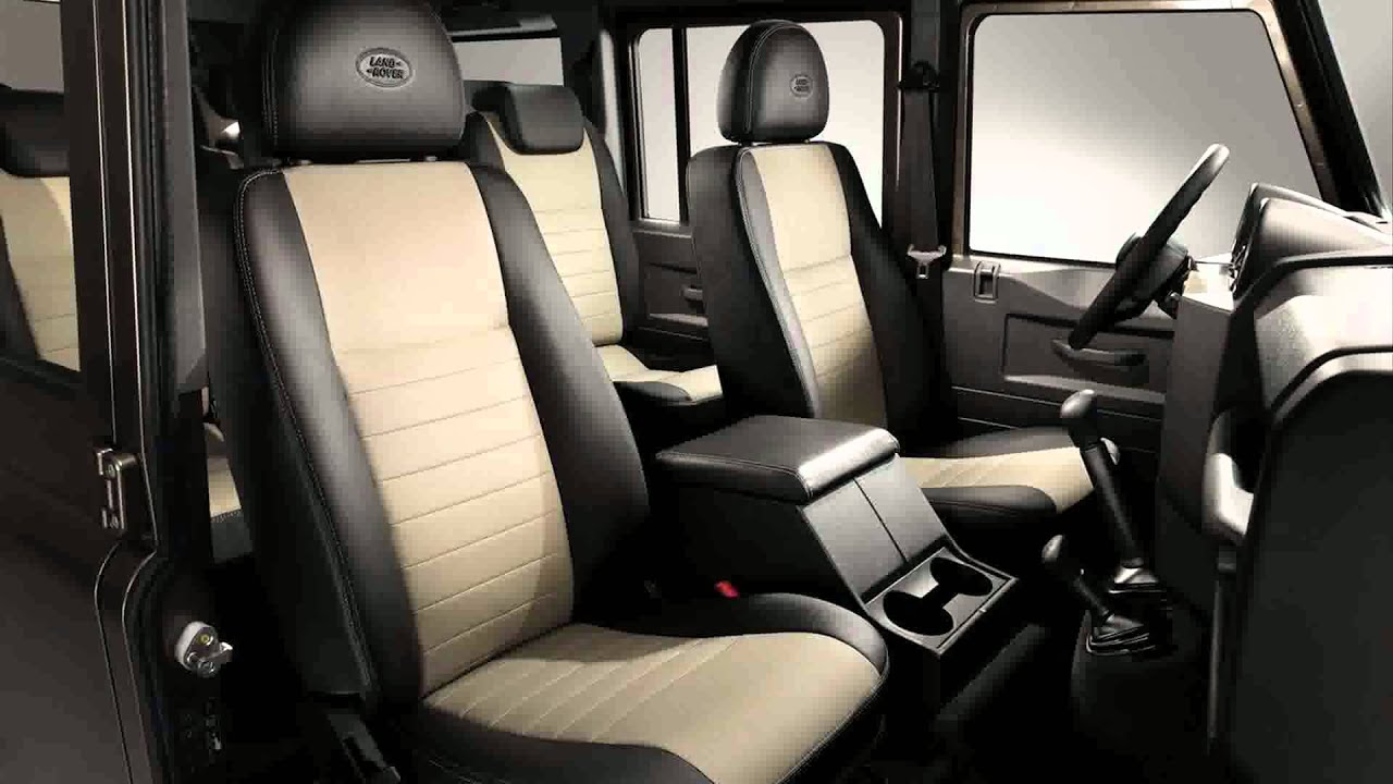 2015 land rover defender youtube for Interieur defender 90