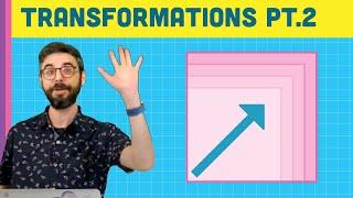 9.2: Transformations Pt.2 (Scale) - p5.js Tutorial