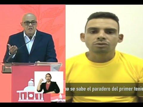 Jorge Rodríguez, pruebas contra Guaidó y López tras captura de Juan Gutiérrez Aranguren, 31/01/2021