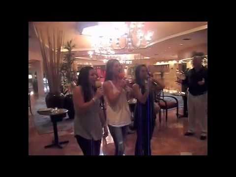 Karaoke at the Bahamas!