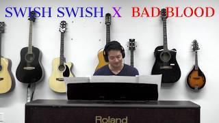 Swish Swish X Bad Blood | Katy Perry + Taylor Swift Mashup (Piano Cover)