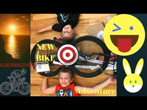 Shopping for a NEW Trick Bike for Gabriel age 8 Kids Channel PART 1