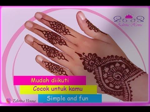 Tutorial Henna Mudah Diikuti Membuat Tangan Kamu Menjadi Lebih