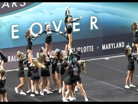 Cheer Extreme Richmond Golden Girls J3 Showcase 2017