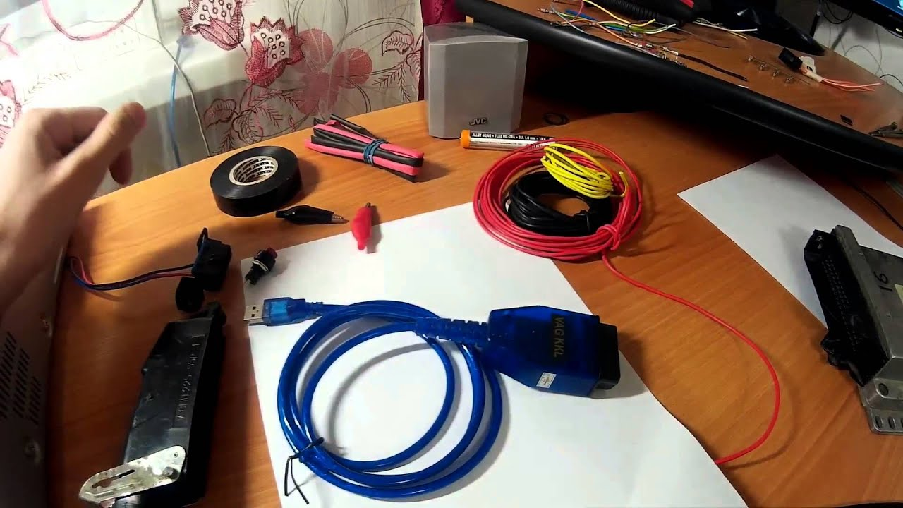 Оборудование для прошивки ЭБУ ВАЗ своими руками 62