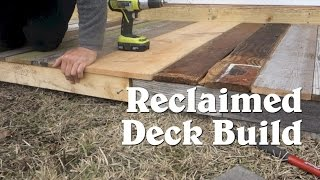 Video Building A Tiny House Deck From Reclaimed Materials download MP3, 3GP, MP4, WEBM, AVI, FLV April 2018