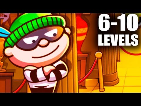 bob-the-robber-4-(6-10-level-walkthrough)-android-gameplay-fullhd-#2
