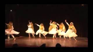 shree ji art of creation students presents tarana ,raag  darbari,music pt  Birju Maharaj