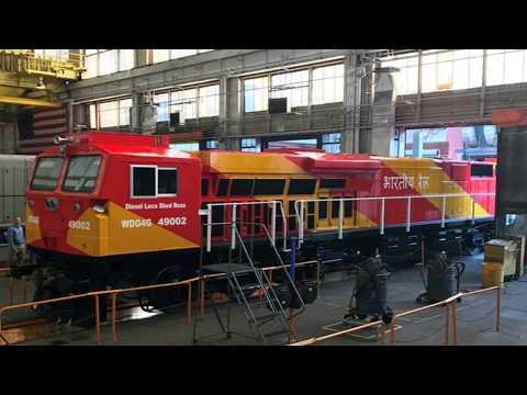 Indian Railways gets new modern diesel locomotive | facts in description