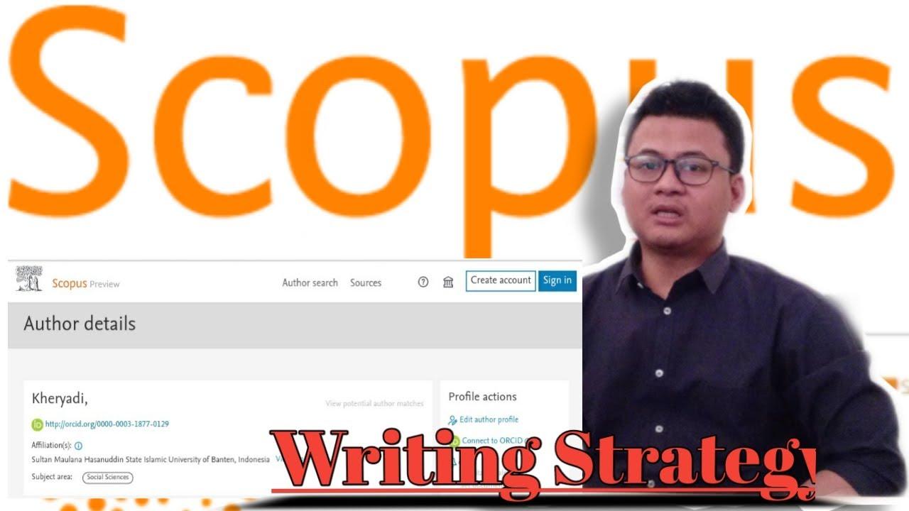 Tips mudah  menulis ke Jurnal terindeks Scopus