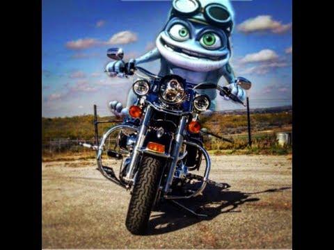 Crazy Frog riding Harley Davidson/Real life/Motorcycle