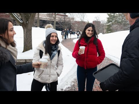 SIUE Students Enjoy Warm, Encouraging Welcome Back for Spring Semester