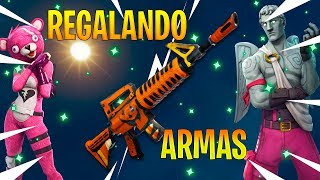 FORTNITE Save the World GIFTING WEAPONS 130+!!