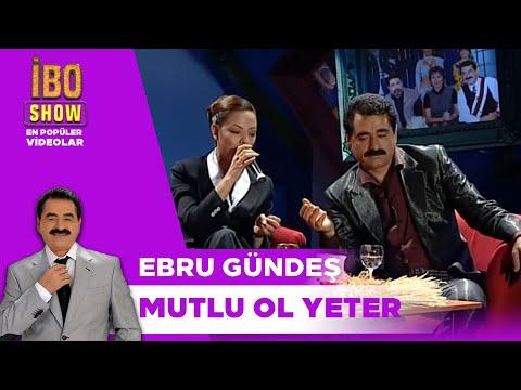 Mutlu Ol Yeter - İbrahim Tatlıses & Ebru Gündeş Düet - Canlı Performans - İbow Show (1998)