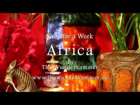Shop for a Week Africa by The Wunderkammer