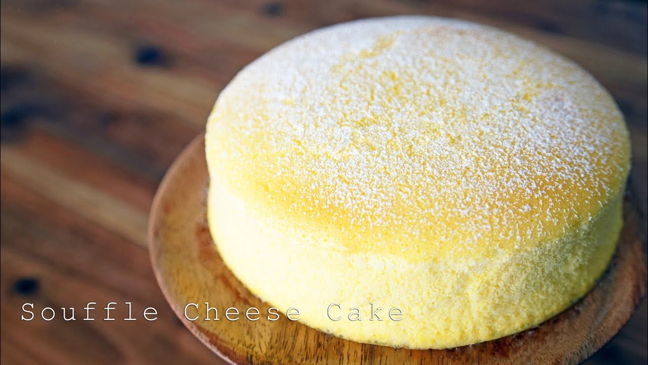 【Basic Recipe】Souffle Cheesecake【Party Kitchen for Cooking Recipes🎉】