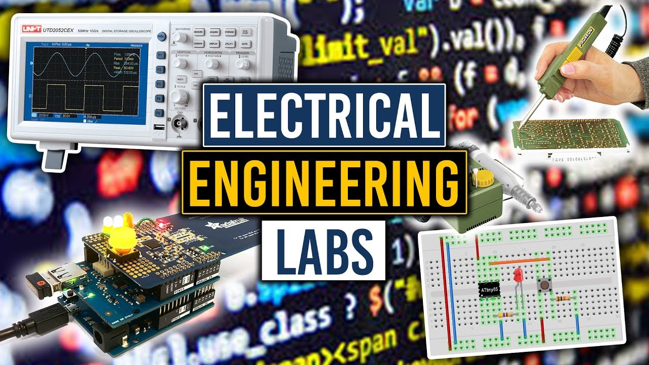A Breakdown Of My Electrical Engineering College Labs Youtube Jigmod Electronic Circuit Building System Electronicslab