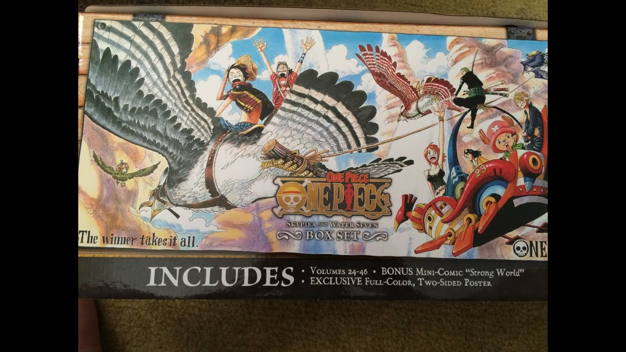 Unboxing One Piece Box Set 2: Skypiea and Water Seven ...
