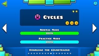 Geometry Dash Level 9 Cycles All Coins