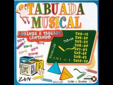 cd da tabuada cantada