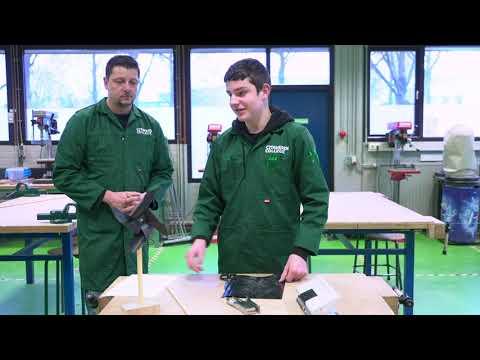 CITAVERDE Roermond Proefles Techniek windmolen maken