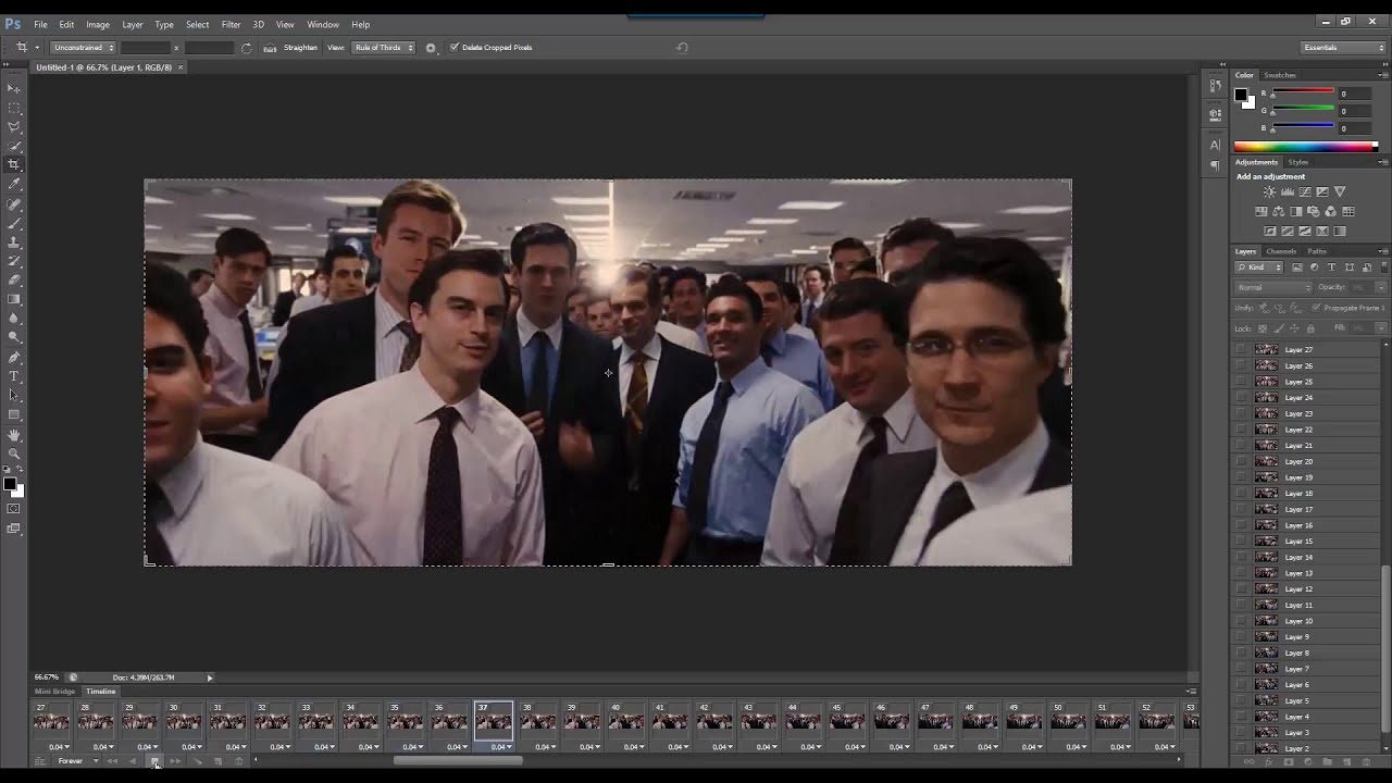 How to create gif animation from movie video clip with photoshop cs6 how to create gif animation from movie video clip with photoshop cs6 youtube negle Gallery