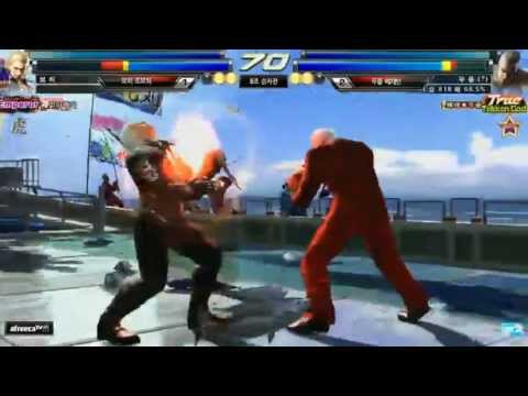 Tekken Strike Bohee (Steve/Miguel) vs Knee (Devil Jin/Bryan)
