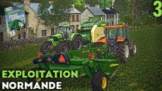 Farming Simulator 17 - Exploitation Normande - DLC prochainement et faucheuse inédite ! (#3)