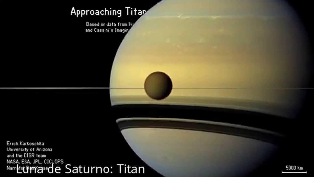La Nave Cassini se meti entre Saturno y sus anillos por primera vez