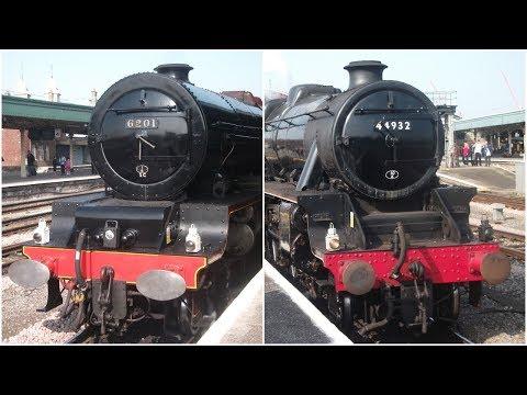 Repeat LMS Steam Loco's, 44871 + 45407 Stanier Black 5's