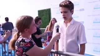 Corey Fogelmanis Interview at Mattel's Party on the Pier Benefitting CHUCLA