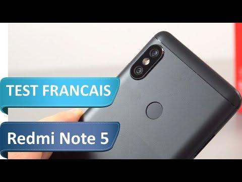 Test du Xiaomi Redmi note 5 Global