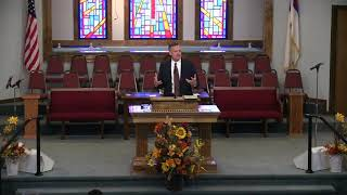 Pastor Tim Hall - Sermon - Making a Mark