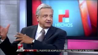Entrevista Javier Alatorre a Andrés Manuel López Obrador, en Hechos 15 de junio de 2012