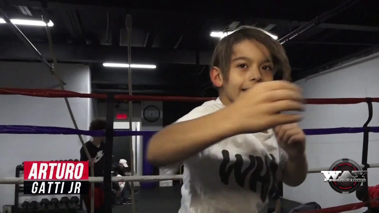 Arturo Gatti Junior , Un jour je serai champion du monde !