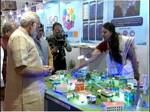 PM Modi at 'Technology and Rural Life' Exhibition at IARI, New Delhi