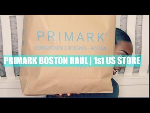 Primark BOSTON Haul | FIRST US STORE - FALL 2016