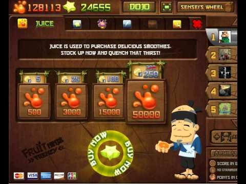 fruit ninja frenzy game to play