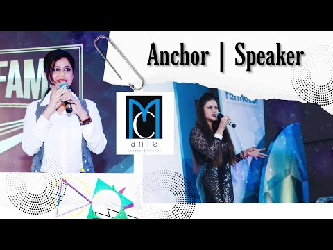 Anchor Anie Noorish Shaikh | Hosted for Godrej Properties | Corporate Event Host