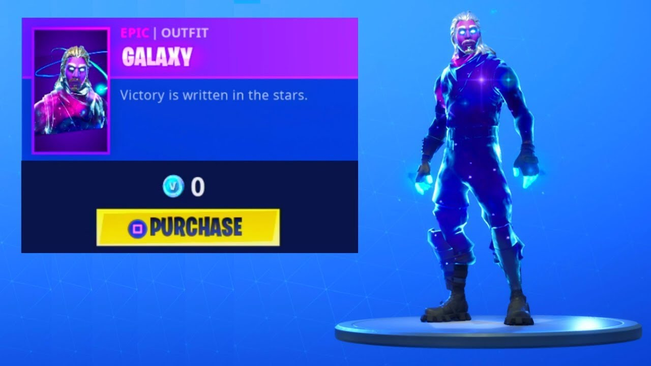 Como conseguir la skin de galaxy gratis en fortnite youtube - Fortnite galaxy skin free ...