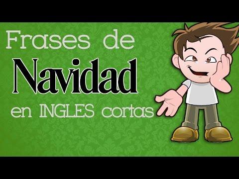 Frases De Navidad En Ingles Cortas Youtube