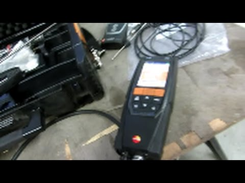 testo 320 basic info to get started