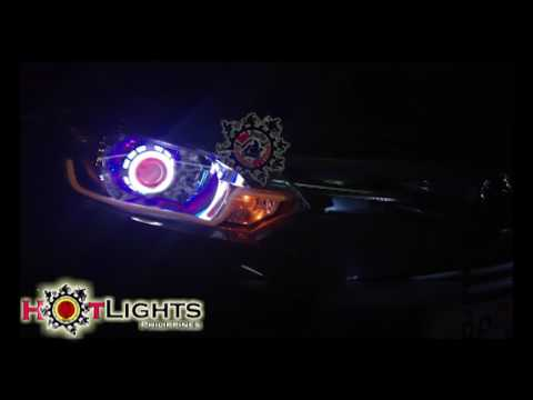 Toyota Vios Projector Set + Eyeling + Running Signal By HotLights Philippines