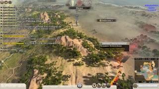 СТРИМ ROME TOTAL WAR 2  компания по сети с другом Колей(#2)